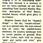 Hopkins Favors Individualism