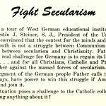Fight Secularism