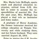 Mrs. McHugh Resigns Position as Coach