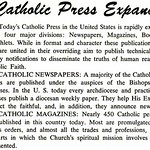 Catholic Press Expands