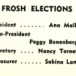 FROSH ELECTIONS