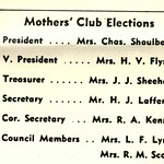 Mothers' Club Election