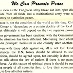 We Can Promote Peace